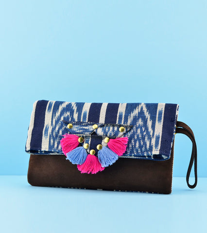 Darling Mafia Marimba Clutch - Royal Blue
