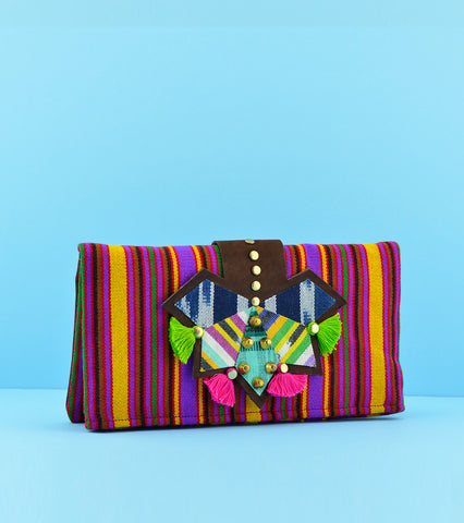 Darling Mafia Marimba Clutch - Strawberry Grape