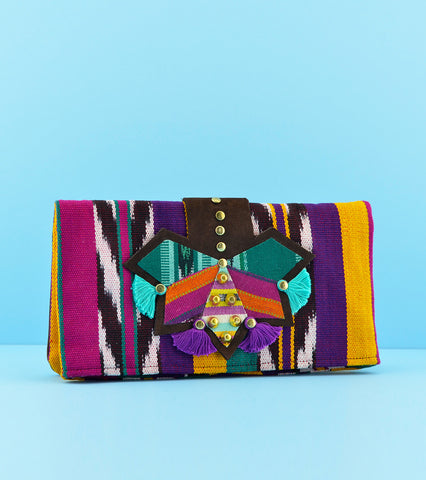 Darling Mafia Marimba Clutch - Pineapple Berry