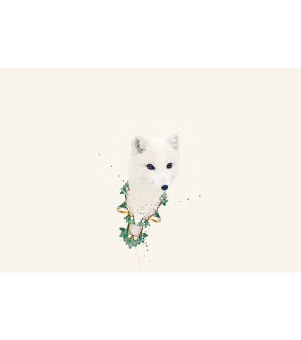 Animal de Poder Print by Little Calpurnia