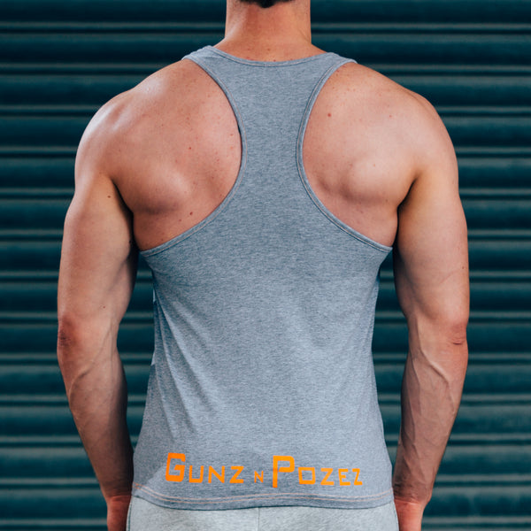 FormFit Vest - Grey & Orange