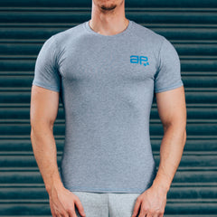 FormFit T-Shirt - Grey & Blue