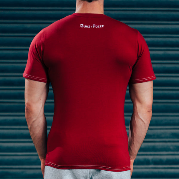 FormFit T-Shirt - Red & White