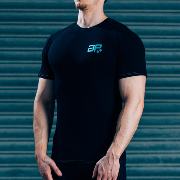 FormFit T-Shirt - Black & Dark Green
