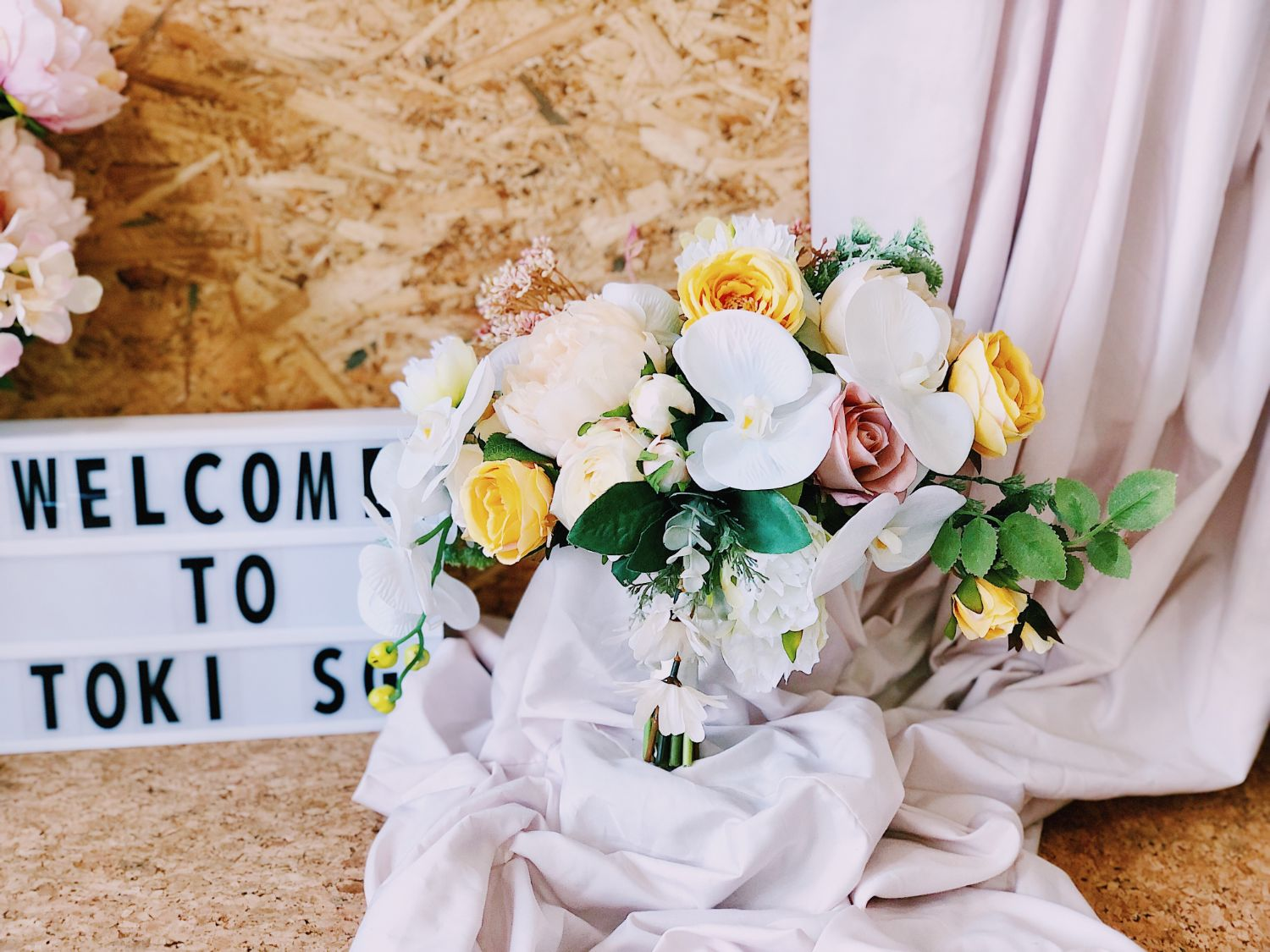 Cheapest And Practical Wedding Flower Bouquet Singapore Toki