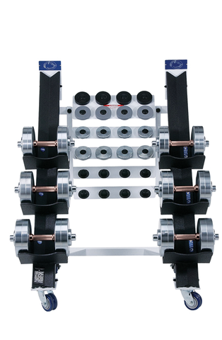 Poles Apart® Adjustable Dumbbell Set - Heavy Set #1