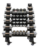 Adjustable Dumbbells - Front View