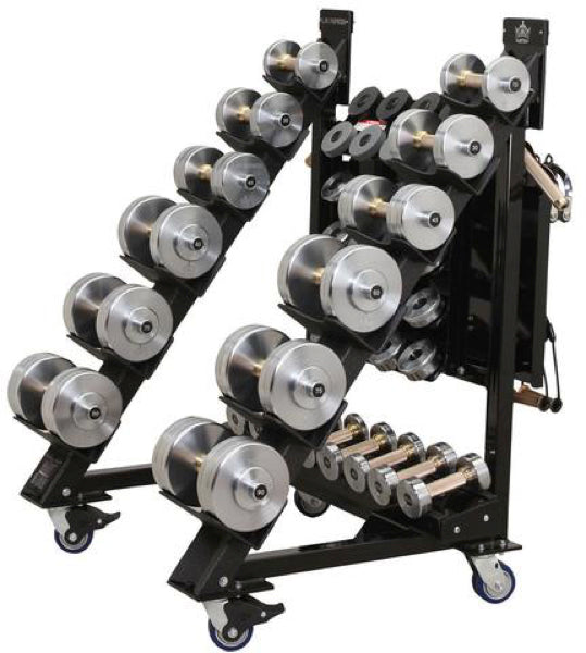 POLES APART® - WEDGE 40 ADJUSTABLE DUMBBELL SET