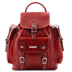 PECHINO TL9052 Leather Backpack
