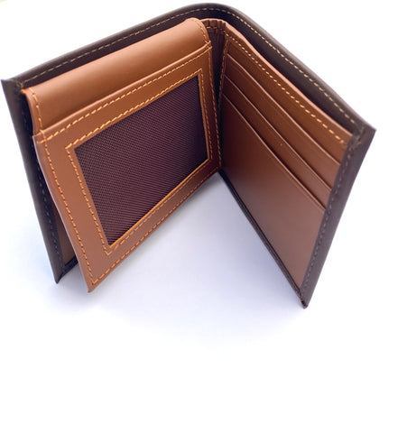 Leather Men wallet with flap