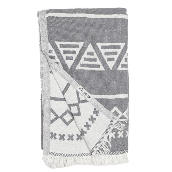 Double Faced Geo Towel