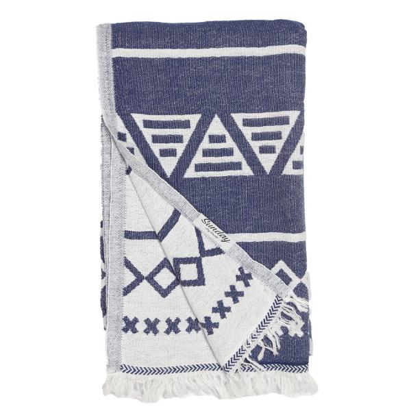 Double Faced Aztec Towel