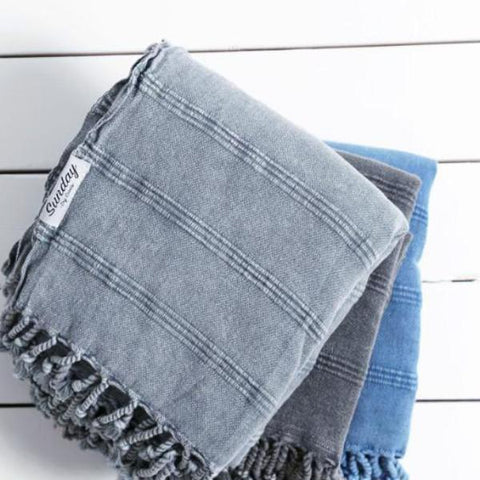 Dylan Stonewash Throw