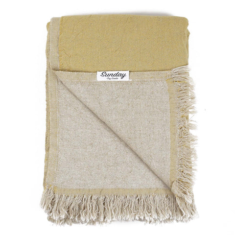 Linen Throw - NEW !!