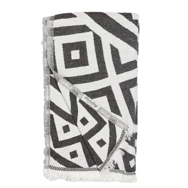 Double Faced Mandala Towel