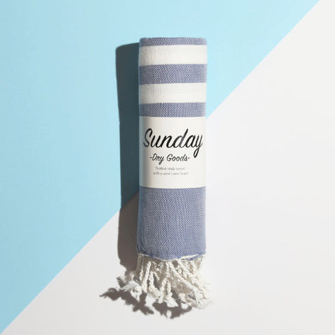 Saturday Stripe Towel
