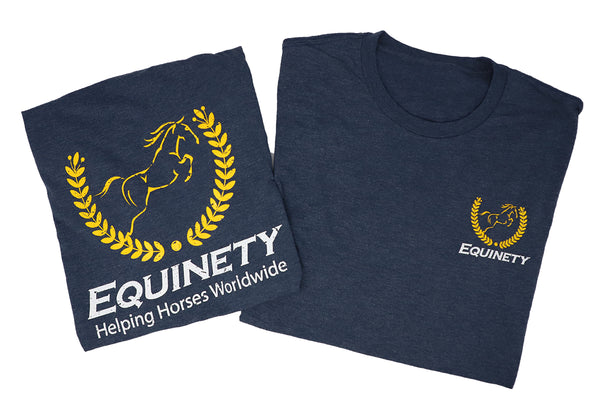 Equinety Men's Tri-Blend Tee Shirt