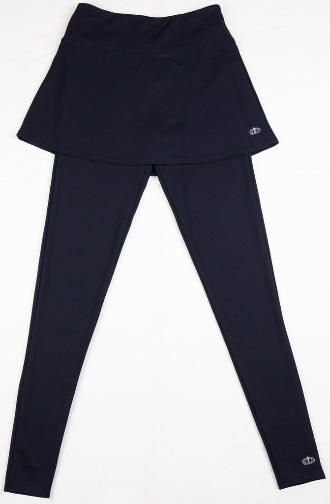 Monica Ankle Length Active Set - an athletic capri set that is part of our Catholic apparel line