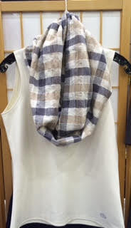 Laboure Scarf - a infinity scarf that is part of our Catholic apparel line