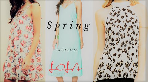 Spring into the new season with style!