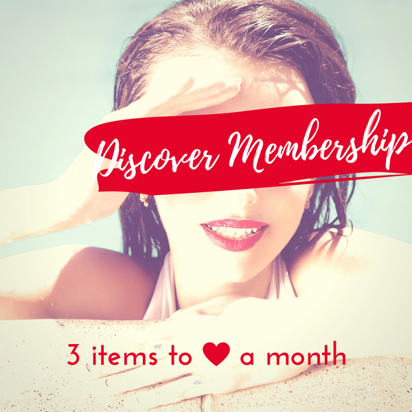 Discover Membership - 3 Items/Month