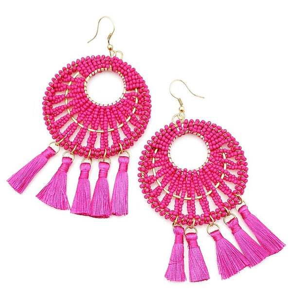 Barbie Pink Earrings