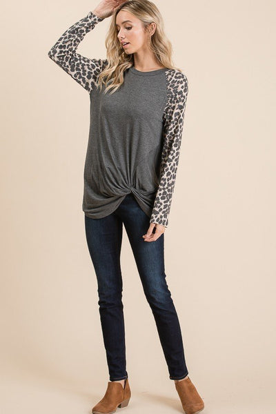 Lenny Leopard Top