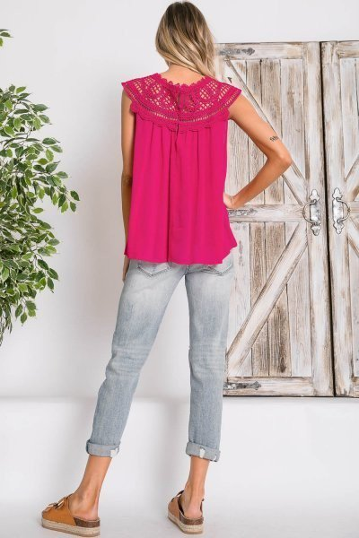 Cami Crochet Top