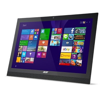 "Acer All-in-One Computer 21.5"", 8 GB Ram, 1 TB HDD, Intel i3 4005U 1.70 GHz, Full HD, Windows 10 Home - AZ1-623-UR53"