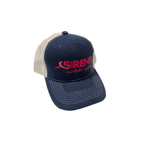Sirena Trucker Hat - Hot Pink