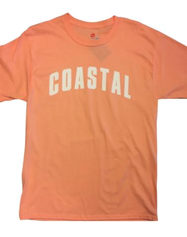 Team Coastal T Shirt - Dreamsicle Orange