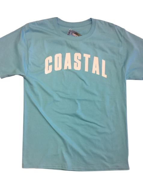 Team Coastal T Shirt - Caribbean Blue