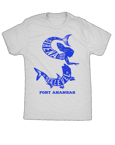 Sea Level X Sirena Tarpon T-Shirt - White