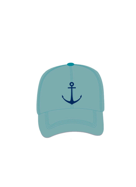 Sirena Anchors Away Baseball Cap - Sea Foam