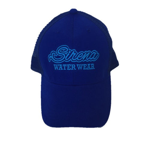 Original Trucker Sirena Tail Hat- Blue