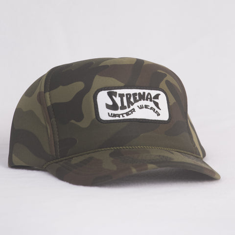 Camo Snapback with Patch