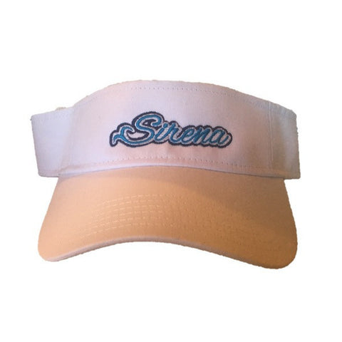 Sirena Visor- White with Blue