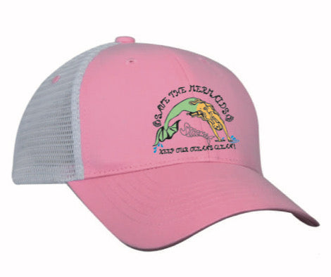 Original Trucker Hat - Save the Mermaid - Pink