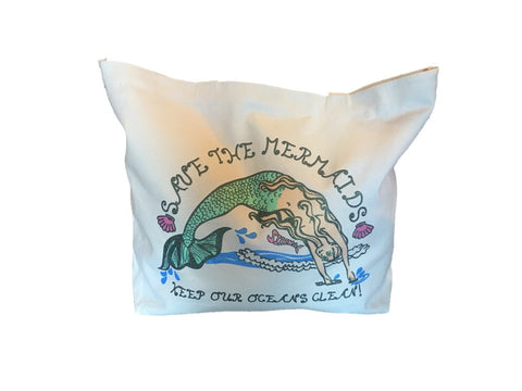 Save the Mermaid Tote
