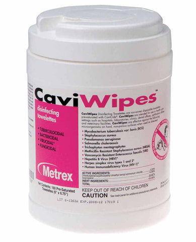 CaviWipes (PN: 13-1100, by Metrex) - ATOMO Dental, Inc.