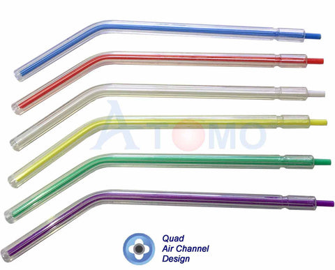 AIR / WATER SYRINGE TIPs (clear color) - ATOMO Dental, Inc.