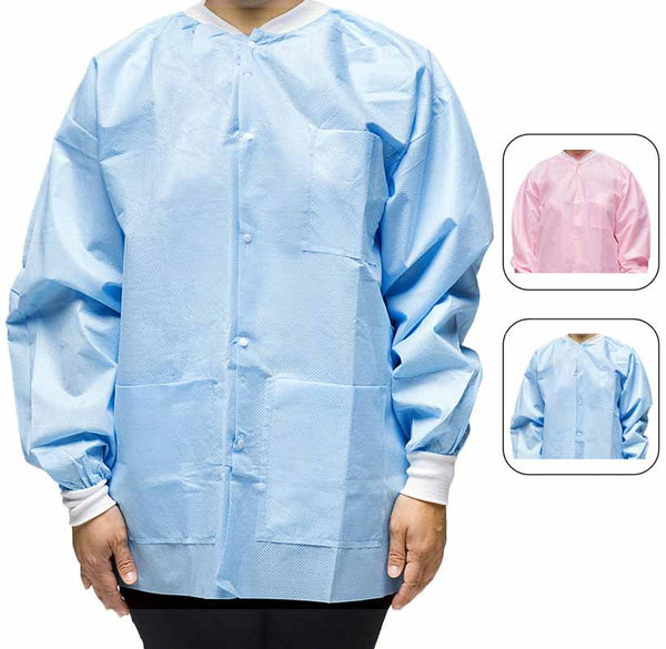 Premium Isolation Jacket For Dental And Medical Office