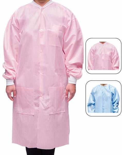 Premium Isolation Lab Coat For Dental And Medical Office