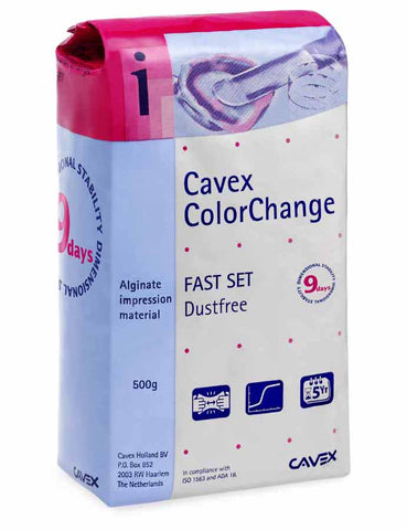 Cavex Impression Alginate (Color Change, Fast Set), ATOMO Dental, Inc.