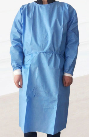 ATOMO Dental Autoclavable Non-Woven Isolation Gown (SMS 3-Layer) 1