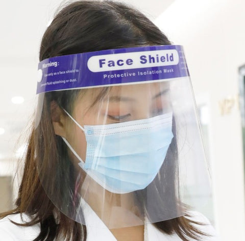 Medical Face Shield, anti-fog (WOODPECKER / ATOMO Dental)