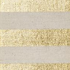 gold striped canvas