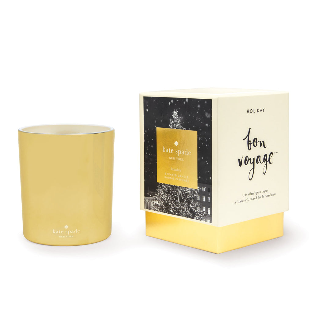 kate spade new york large candle, holiday