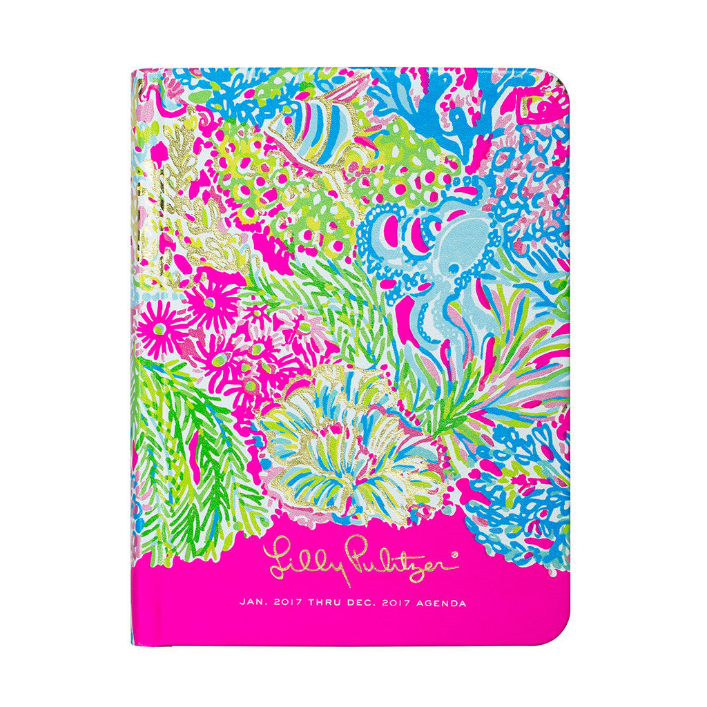 Lilly Pulitzer 12 Month Agenda - Lover's Coral - lifeguard-press - 1