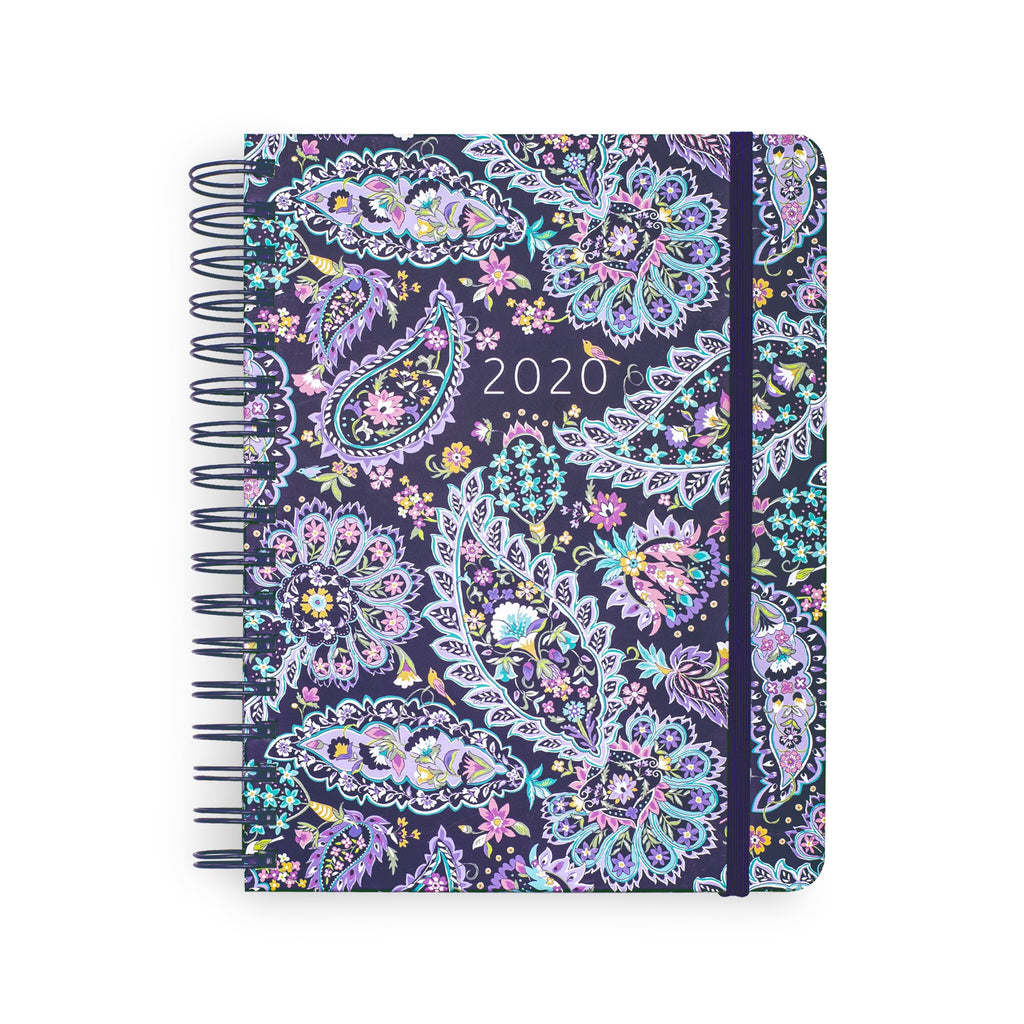 2020-2021 Vera Bradley 17 Month Large Planner, French Paisley